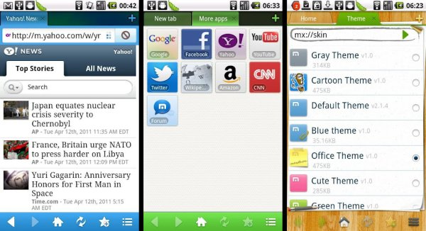 Maxthon Mobile Web Browser - Android Browser