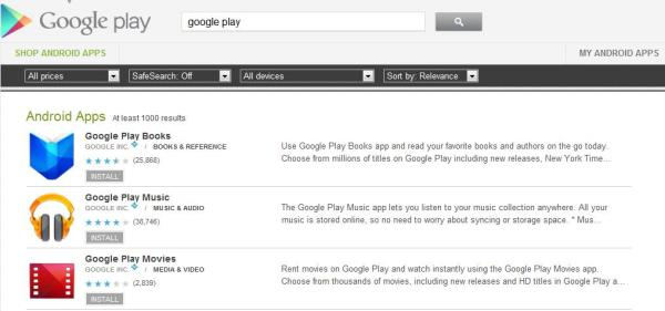 Download Google Play Apps