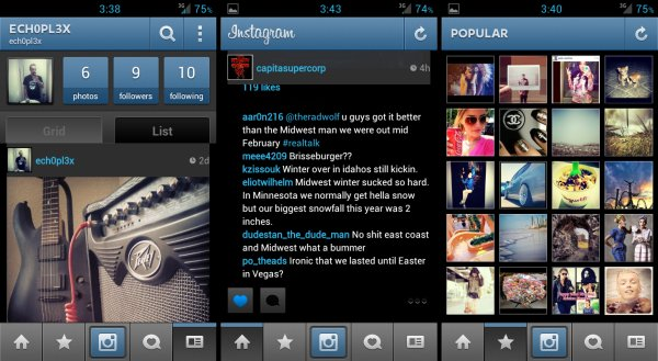 Inverted Instagram App