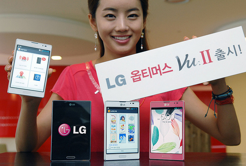 LG Optimus Vu 2 Price and Specs officially announced for South Korea