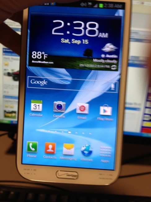 USA Galaxy Note 2