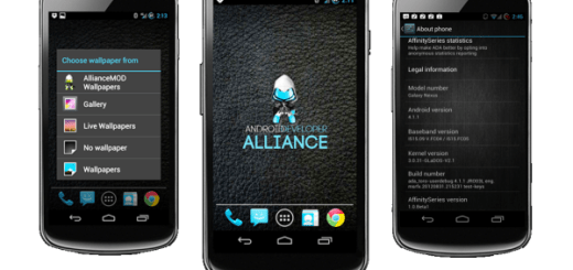 Affinity ROM for galaxy nexus