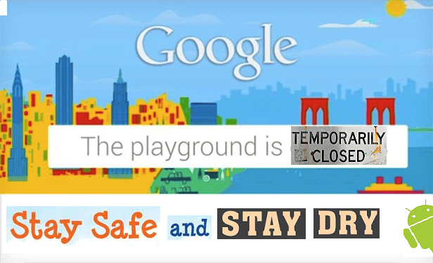 Google October 29th event cancelled