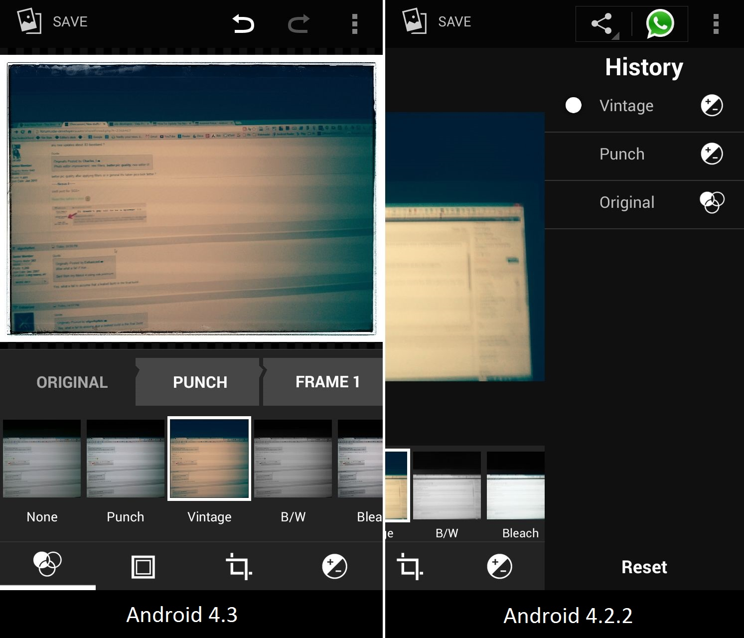 Android 4.3 Photo Editor