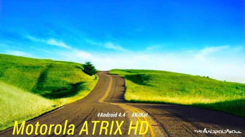 Motorola Atrix HD Android 4.4 KitKat