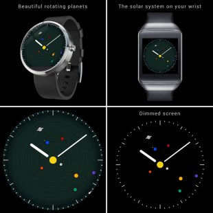 Planets Watchface for Android Wear