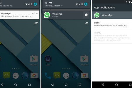 android 5.0 app notifications