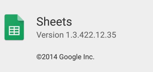 Google Sheets APK v1.3.422.12.35