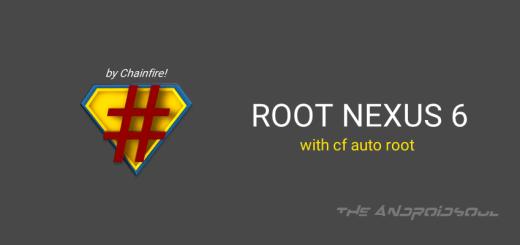 Root Nexus 6 with CF Auto Root
