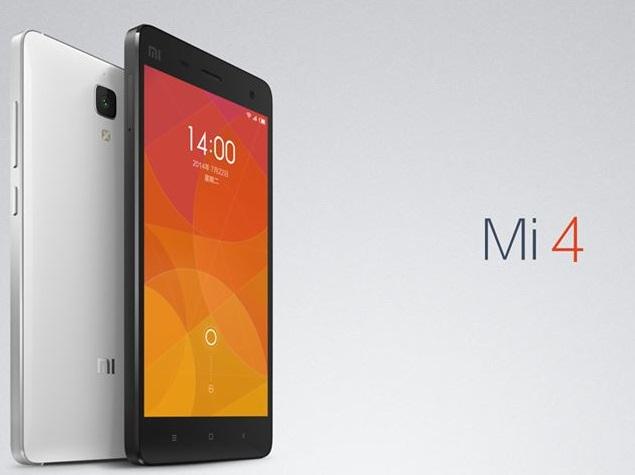 Xiaomi Mi4 India Release Date