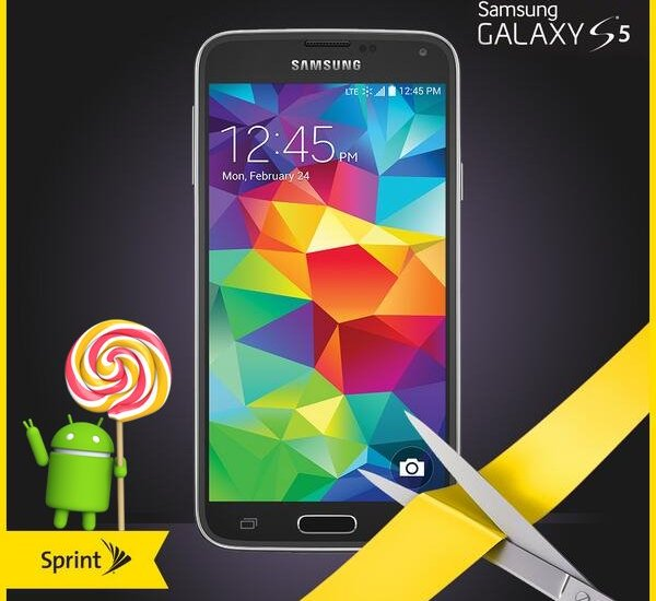 Sprint Galaxy S5 Lollipop Update