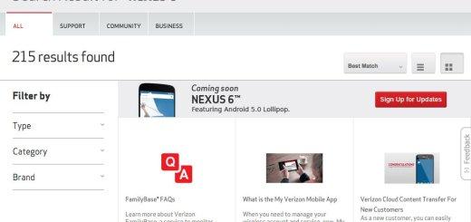 Verizon Wireless Nexus 6
