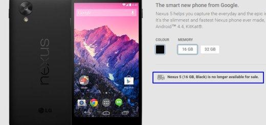 Farewell Nexus 5