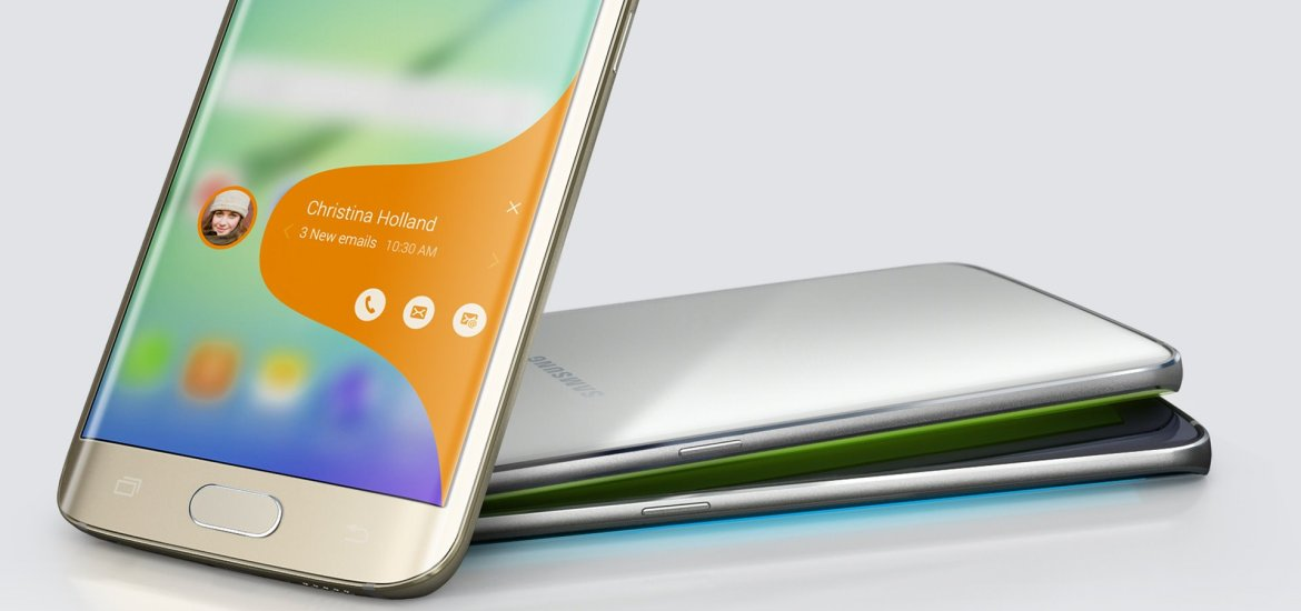 Galaxy S6 edge Features - Curved Display