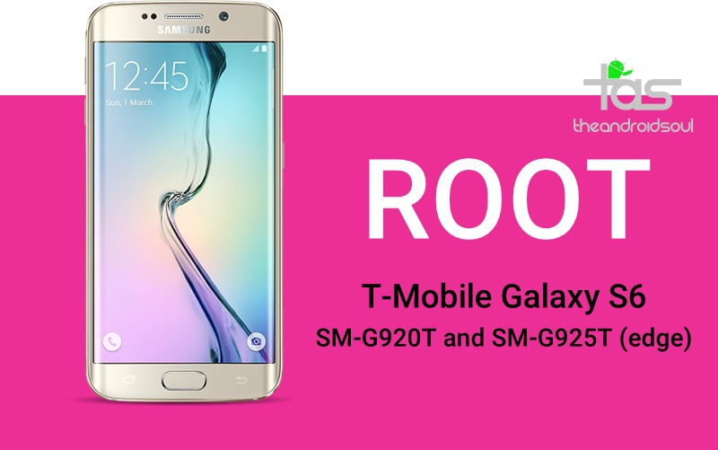 Root T-Mobile Galaxy S6 and S6 edge