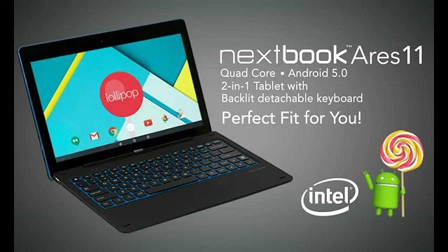 nextbook ares 11 launch