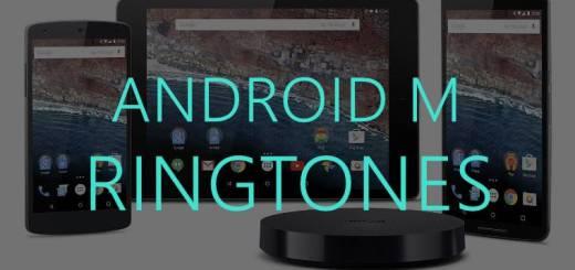 Android M ringtones