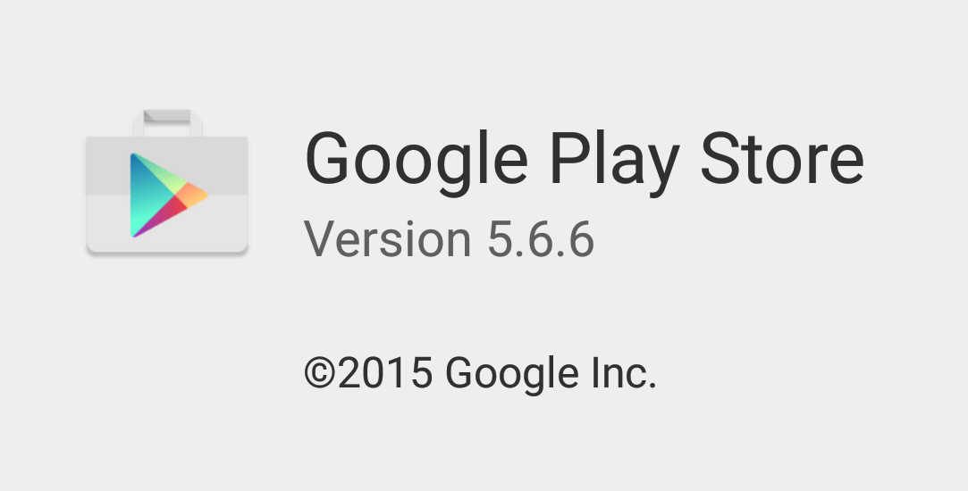 Google Play Store 5.6.6
