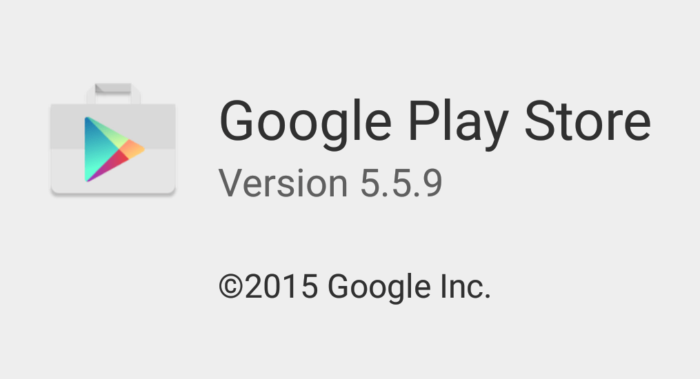 Play Store 5.5.9