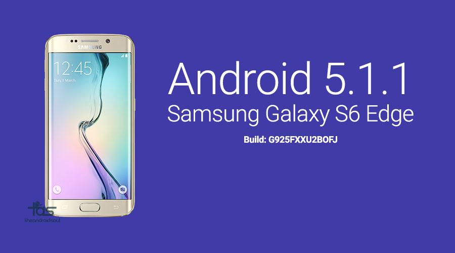 Galaxy S6 Edge G925i 5.1