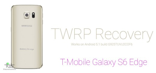T-Mobile Galaxy S6 TWRP Recovery