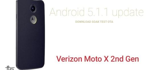 Verizon Moto X 2014 5.1 OTA