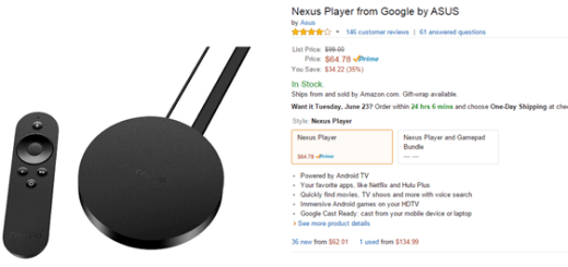 amazon nexus player