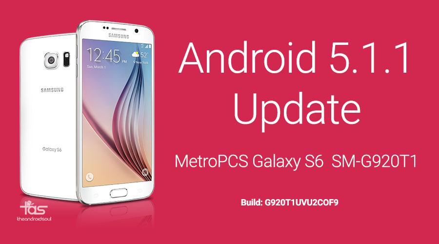 metropcs galaxy s6 5.1 update