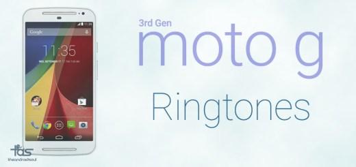 moto g 3rd gen ringtones