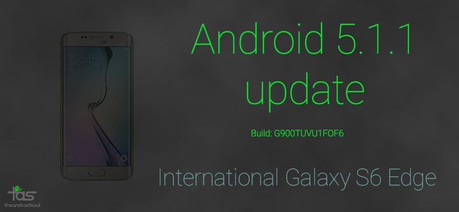 samsung galaxy s6 edge 5.1 update
