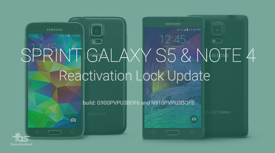 Sprint Reactivation lock update