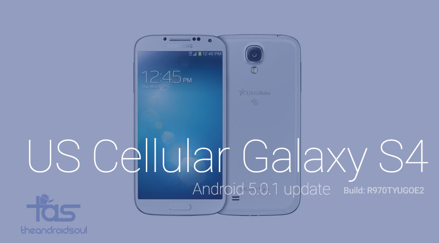 us cellular galaxy s4 lollipop update