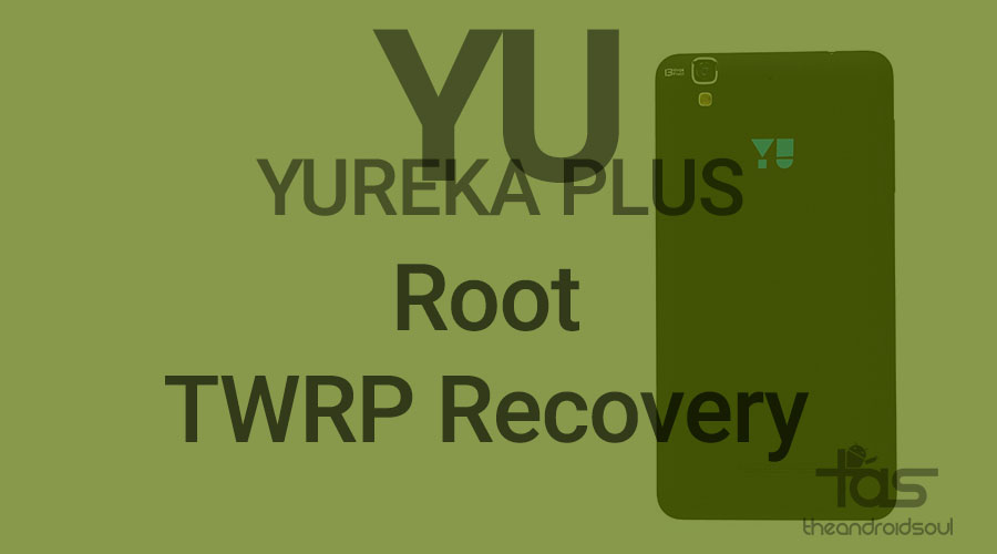 Yureka Plus TWRP Recovery Root
