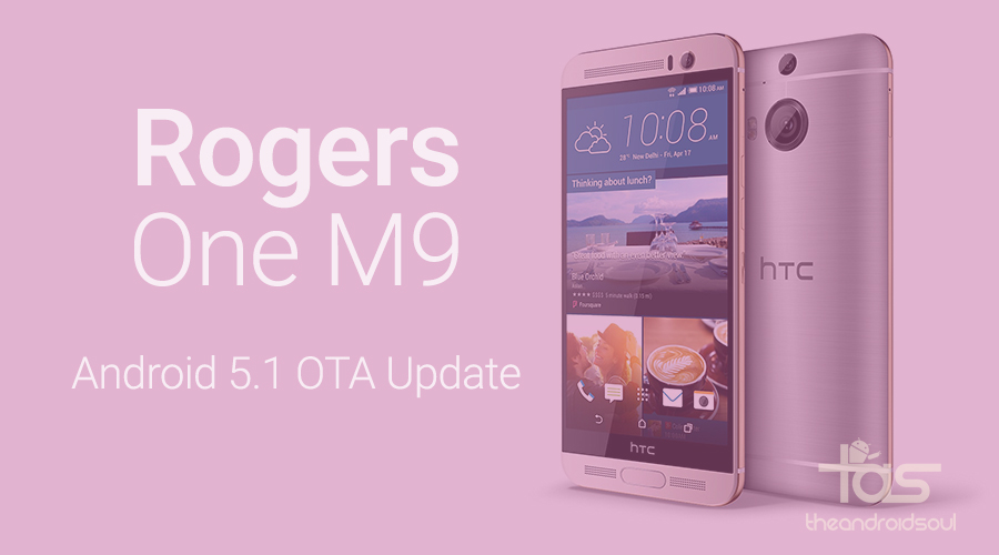 rogers one m9 5.1 update