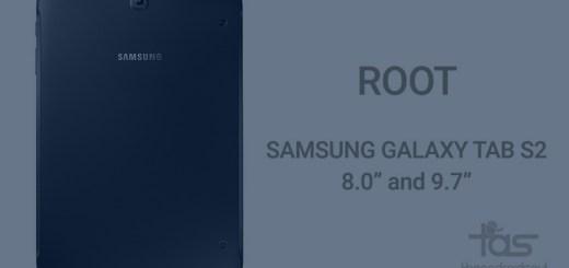 Galaxy Tab S2 Root