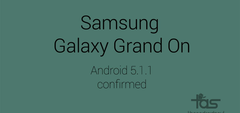 Galaxy Grand On 5.1.1