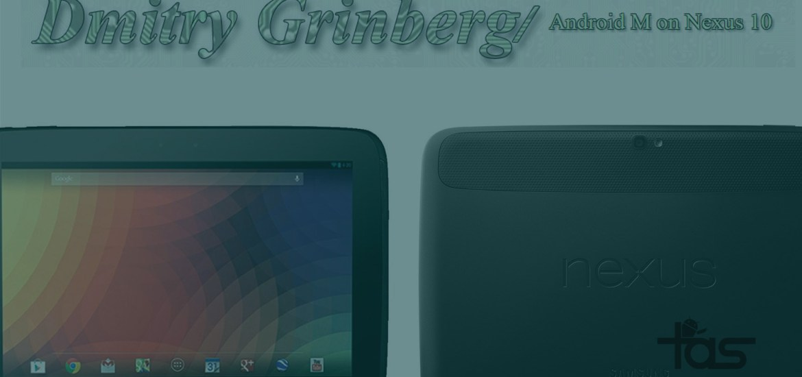 Nexus 10 Marshmallow Update