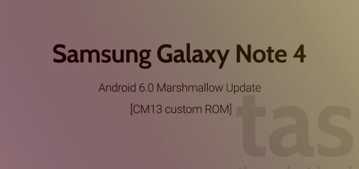 Galaxy Note 4 Marshmallow Update