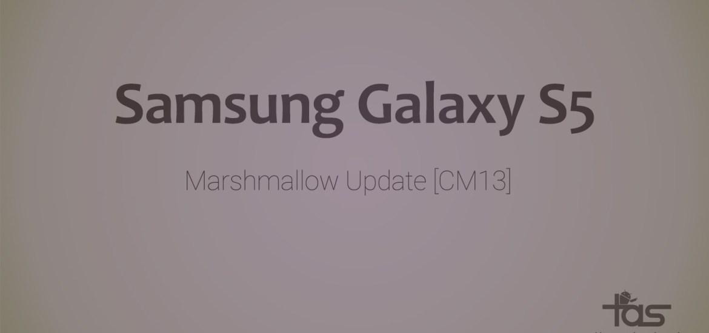 Galaxy S5 CM13