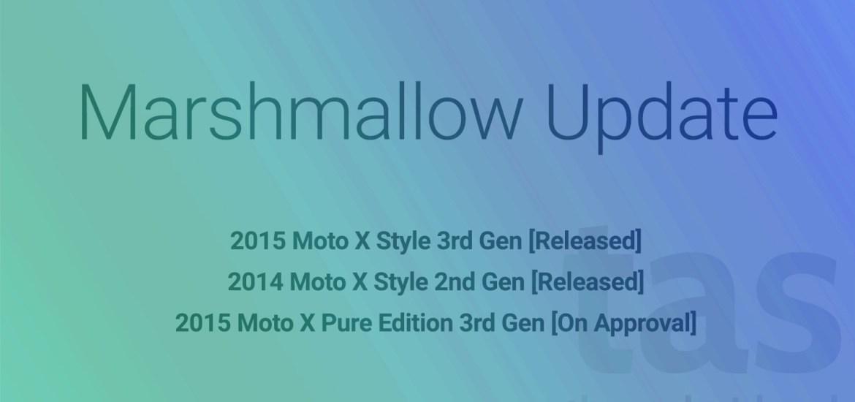 Marshmallow update ota moto x style