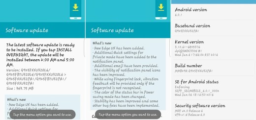 PA1 update Android 6.0 Galaxy S6