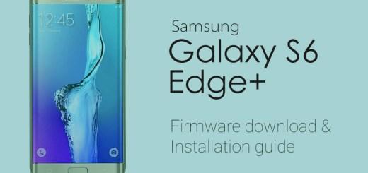 Galaxy Edge Plus Stock Firmware