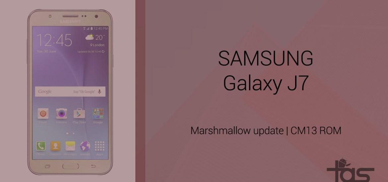 Galaxy J7 Marshmallow update unofficial