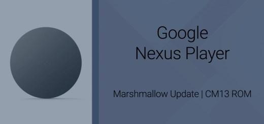 Nexus Player CM13