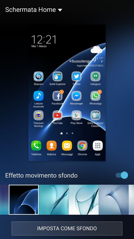 Galaxy S7 Wallpaper Picker App