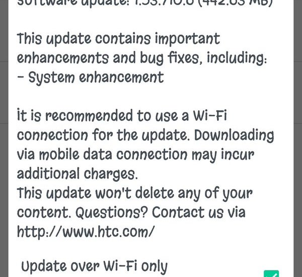 optus htc 10 update