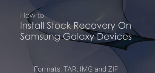 samsung stock recovery guide