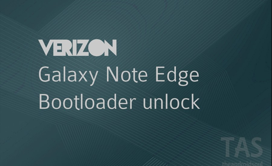 verizon note edge bootloader unlock