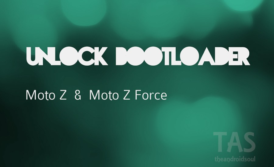 Unlock Bootloader moto z force