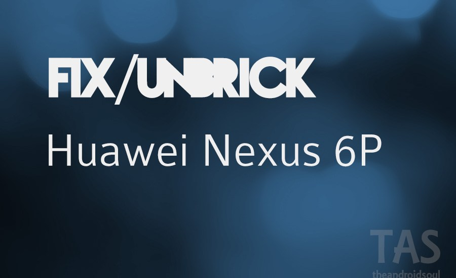 nexus 6p fix